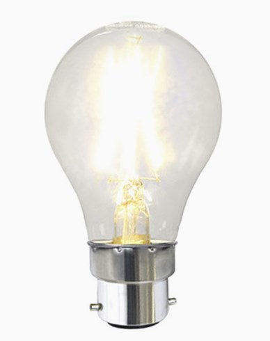 Illumination LED Clear filament bulb B22 2700K 180lm