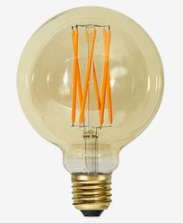 Star Trading Vintage Gold 1800K LED filament Ø95 3,8W (25W)