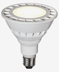 Star Trading Spotlight LED Klar E27 IP65 1100lm 4000K
