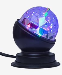 Star Trading Bordslampa Disco LED-ljus