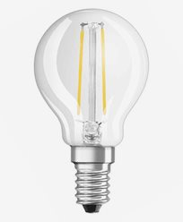 Osram LED Retrofit Klot E14 2W