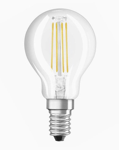 Osram LED Retrofit Klot E14 4W