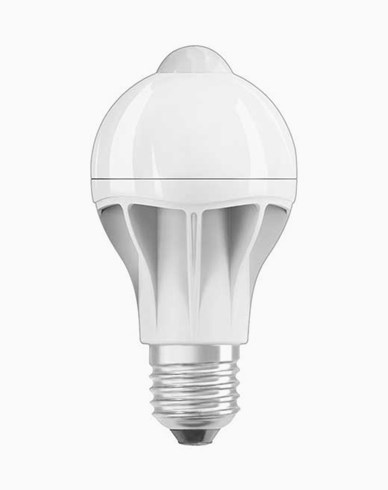 Osram LED-lampa Normal CL A E27 Motion Sensor 9W (60W)