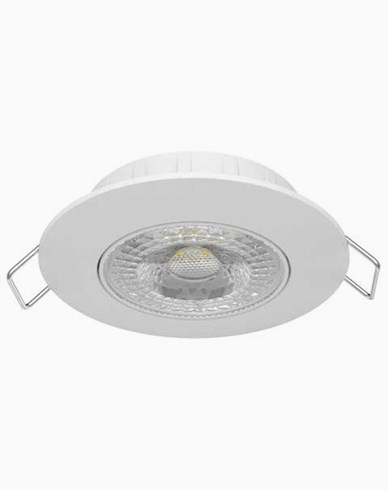Airam Cosmo LED 5,5W/830 downlight IP20 dimbar Vit