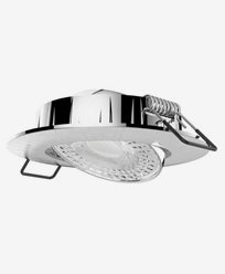 Airam Cosmo LED downlight 5,8W/830 IP20 Dim Borstad krom