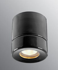 Ifö Electric Light On BASTU Svart IP44 max 35W GU10