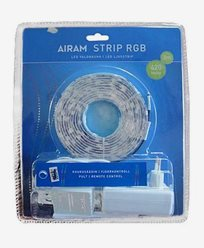 Airam LED Strip 3m RGB IP44, 14,4W. 4107190