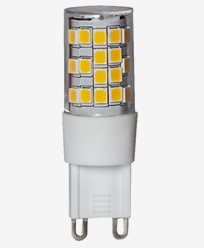 Star Trading Illumination LED Klar G9 2700K 400lm Dimmerkompatibel