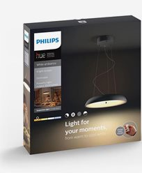 Philips Hue Amaze pendant black 1x60W 230V. Inkl switch