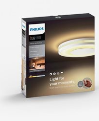 Philips Hue Being ceiling lamp white 1x40W 230V. Inkl switch