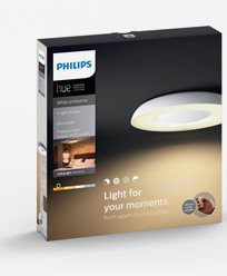 Philips Hue Still ceiling lamp white 1x40W 230V. Inkl switch