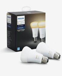Philips Hue White Ambiance A60 E27 Retail 2Pack