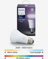 Philips Hue White and Color E27-Lampa